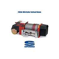 Superwinch Husky 8 Winch 8500 lb. 12VDC With Freespooling And Roller Fairlead (Universal Application) - Superwinch 2401A