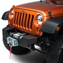 Rough Country Hybrid Stubby Bumper (07-13 Wrangler JK) - Rough Country 1059