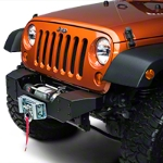 Rough Country Hybrid Stubby Bumper (07-14 Wrangler JK) - Rough Country 1059