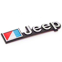 Omix-ADA Jeep Emblem Stick On, Officially Licensed (87-90 Wrangler YJ) - Omix-ADA DMC-5451627