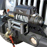 Rough Country Winch Mounting System (07-13 Wrangler JK) - Rough Country 1173