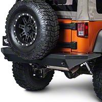 Teraflex RockGuard Outback Rear Bumper (07-15 Wrangler JK) - Teraflex 4654100