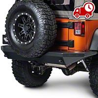 Teraflex RockGuard Outback Rear Bumper (07-16 Wrangler JK) - Teraflex 4654100
