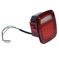 Omix-ADA Led Tail Light Assembly LH (87-95 Wrangler YJ, 97-06 Wrangler TJ) - Omix-ADA 12403.83