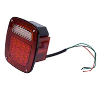 Omix-ADA Led Tail Light Assembly RH (87-95 Wrangler YJ, 97-06 Wrangler TJ) - Omix-ADA 12403.82