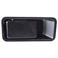 Omix-ADA Left Side Outer Door Handle Half-Door Model (87-06 Wrangler YJ & TJ) - Omix-ADA 11812.09