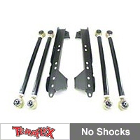Teraflex Long Arm Upgrade Kit (04-06 Wrangler TJ Unlimited) - Teraflex 1447780