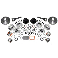 Alloy USA Manual Locking Hub Conversion Kit (87-95 Wrangler YJ) - Alloy USA 12194