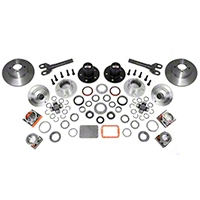 Alloy USA Manual Locking Hub Conversion Kit (97-06 Wrangler TJ) - Alloy USA 12195
