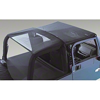 Rugged Ridge Mesh Roll Bar Top (92-95 Wrangler YJ) - Rugged Ridge 13577.01