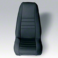 Rugged Ridge Neoprene Front Seat Covers Pair - Black (87-90 Wrangler YJ) - Rugged Ridge 13212.01