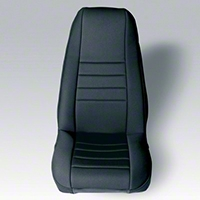 Rugged Ridge Neoprene Front Seat Covers, Black (91-95 Wrangler YJ) - Rugged Ridge 13211.01