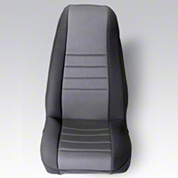 Rugged Ridge Neoprene Front Seat Covers Pair - Gray/Black (87-90 Wrangler YJ) - Rugged Ridge 13212.09