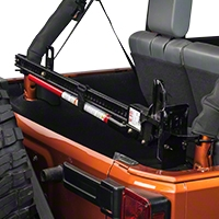 Rugged Ridge Off Road Jack Roll Bar Mounting Bracket, Hi-Lift Style (92-13 Wrangler YJ, TJ & JK) - Rugged Ridge 11586.02