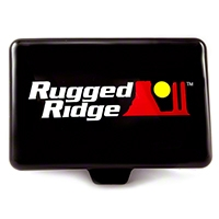 Rugged Ridge Off Road Light Cover, 5X7-Inch - Each, Black (Universal Application) - Rugged Ridge 15210.55