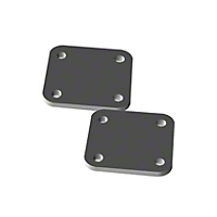 OK Offroad Bumper Shackle Mount Backing Plate - Pair (07-13 Wrangler JK) - OK Offroad OK-BSM004