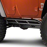 Olympic 4x4 Xtreme Double Slider Bars (07-13 Wrangler JK 4 Door) - Olympic 4x4 271-171