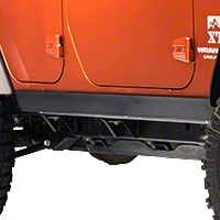 Olympic 4x4 1/4 Thick A/T Rocker Panel Guards (07-13 Wrangler JK 4 Door) - Olympic 4x4 120-171