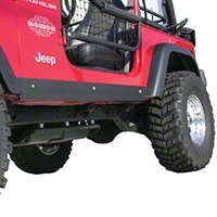 Olympic 4x4 1/8 in. Thick A/T Rocker Panel Guards (97-06 Wrangler TJ) - Olympic 4x4 127-121
