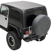Smittybilt 1-Piece Hardtop w/o Upper Doors, Textured Black (97-06 Wrangler TJ) - Smittybilt 519701