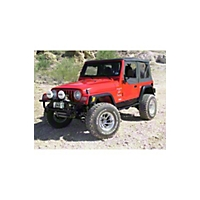 OR-Fab S1 Rocker Panels, Wrinkle Black (97-06 Wrangler TJ) - OR-Fab 84200
