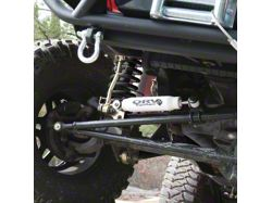 Rugged Ridge ORV Steering Stabilizer (87-06 Wrangler YJ & TJ)