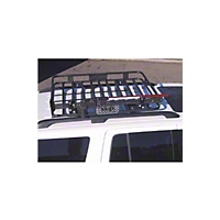 Warrior Products Outback Rack 4 in., 1 pc  (87-01 Wrangler YJ & TJ) - Warrior Products 81340