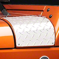 Warrior Products Outer Hood Cowling Cover (07-13 Wrangler JK) - Warrior Products 923