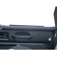 Rugged Ridge 2 Padded Arm Rests (87-06 Wrangler YJ & TJ) - Rugged Ridge 11820.2