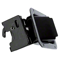 Bestop Paddle Handles for Soft Doors, Rotary Latch (87-95 Wrangler YJ) - Bestop 51251-01