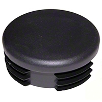 Omix-ADA Plastic Bumper Cap for 3 inch Tubular Bumpers (Universal Application) - Omix-ADA 11525.01