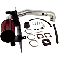 Rugged Ridge Polished Aluminum Cold Air Intake (03-06 Wrangler TJ w/2.4L) - Rugged Ridge 17750.03
