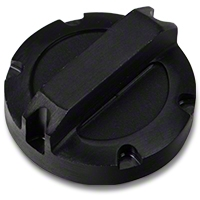 Rugged Ridge Power Steering Cap, Black Billet Aluminum (07-11 Wrangler JK) - Rugged Ridge 11431.01