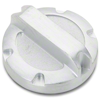 Rugged Ridge Power Steering Cap, Brushed Billet Aluminum (07-11 Wrangler JK) - Rugged Ridge 11430.01