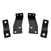 Rough Country Rear Bumper Brackets (07-13 Wrangler JK) - Rough Country 1124