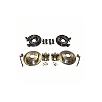 Crown Automotive Rear Drum to Disc Brake Conversion Kit for Dana 35 C-Clip or Chrysler 8.25 (97-05 Wrangler TJ) - Crown Automotive D35DISC-2