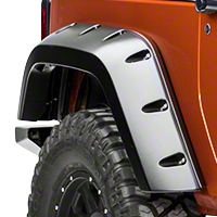 Bushwacker Rear Pocket Flare Kit (07-13 Wrangler JK 2 Door) - Bushwacker 10046-02
