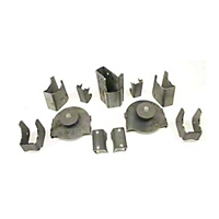 Teraflex Rear Axle Bracket Kit (97-06 Wrangler TJ) - Teraflex 3990000