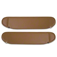 Rugged Ridge Replacement Sun Visor Pair, Spice Vinyl (87-95 Wrangler YJ) - Rugged Ridge 13312.37