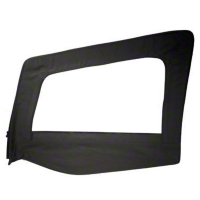 Smittybilt Replacement Upper Door Skin w/ Frame, Driver Side (87-95 Wrangler YJ) - Smittybilt 89415