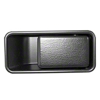 Omix-ADA Right Hand Outer Door Handle Half-Door Model (87-06 Wrangler YJ & TJ) - Omix-ADA 11812.08