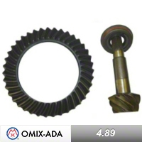 Omix-ADA Ring & Pinion Dana 44 Front or Rear 4.89 Ratio (03-06 Wrangler TJ Rubicon) - Omix-ADA 16513.75