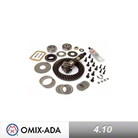 Omix-ADA Ring & Pinion Kit 4.10 Ratio (87-96 Wrangler YJ) - Omix-ADA 16513.23