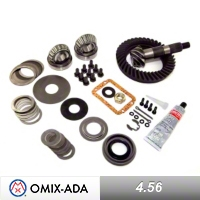 Omix-ADA Ring & Pinion Kit 4.56 Ratio (87-96 Wrangler YJ) - Omix-ADA 16513.24