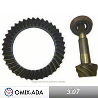Omix-ADA Ring & Pinion Kit for Front Dana 30 w/ Disconnect, 3.07 Ratio w/ 43 x 13 Teeth. (87-95 Wrangler YJ) - Omix-ADA 16513.2
