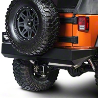 Warrior Products Rock Crawler Rear Bumper (07-13 Wrangler JK) - Warrior Products 592