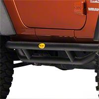 Smittybilt Rock Crawler Side Armor (07-15 Wrangler JK 2 Door) - Smittybilt 76633