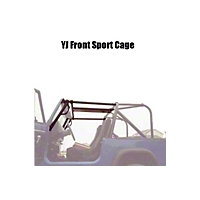Rock Hard 4x4 Parts Ultimate Sport Cage (87-95 Wrangler YJ) - Rock Hard 4x4 RH1002