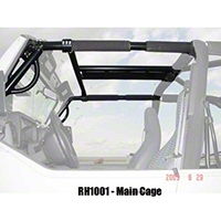 Rock Hard 4x4 Parts Ultimate Sport Cage (97-06 Wrangler TJ) - Rock Hard 4x4 RH1001