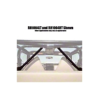 Rock Hard 4x4 Parts Unpainted Five Point Harness Attachment Bar Left Side (87-06 Wrangler YJ & TJ) - Rock Hard 4x4 RH1004-LT